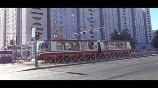 """Трамвай """"5004 по 55"""" Петербурга 11-*: ЛВС-86М2 5004 по №55 ()"""