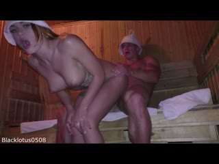 Blacklotus0508 BEAUTIFUL YOUNG ESCORT GIRL WAS A BACHELOR PARTY GIFT IN THE SAUNA
