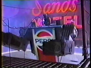 1985 - Pepsi - Transformers (with Martin Sheen Voiceover) Commercial