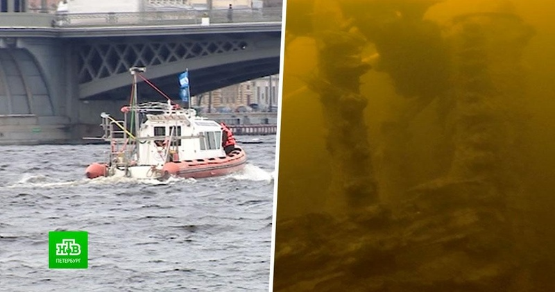 Подводные археологи разгадывают тайны затонувших в Неве кораблей
