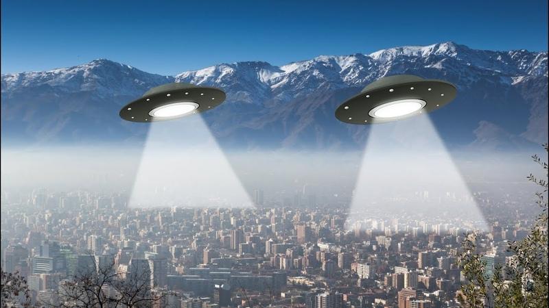 НЛО пришельцев просветили весь город в поисках своего пропавшего корабля