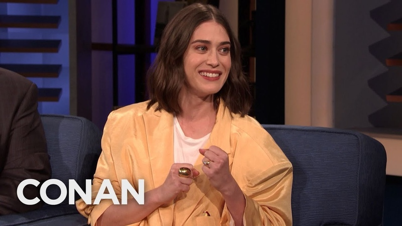"Lizzy Caplan On Playing Annie Wilkes From ""Misery"" - CONAN on TBS"