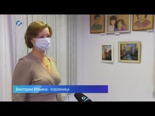 Выставка трёх художниц работает в Петрозаводске
