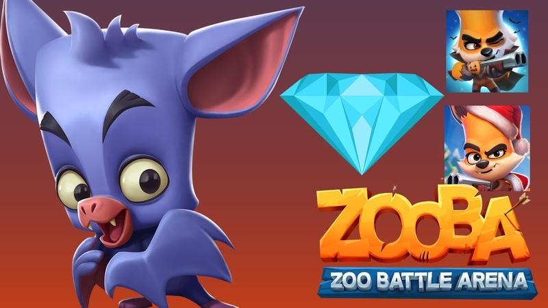 Zooba Зуба еще один способ получить кристаллы в игре Зооба или как получить гемы в игре zooba зуба