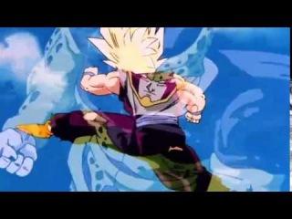 Super Saiyan 2 Gohan Vs. Cell Jr & Cell (Original Japanese) - Fight Edit