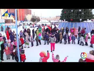 В Альметьевске стартовали новогодние мероприятия в рамках проекта «Урам Тайм»