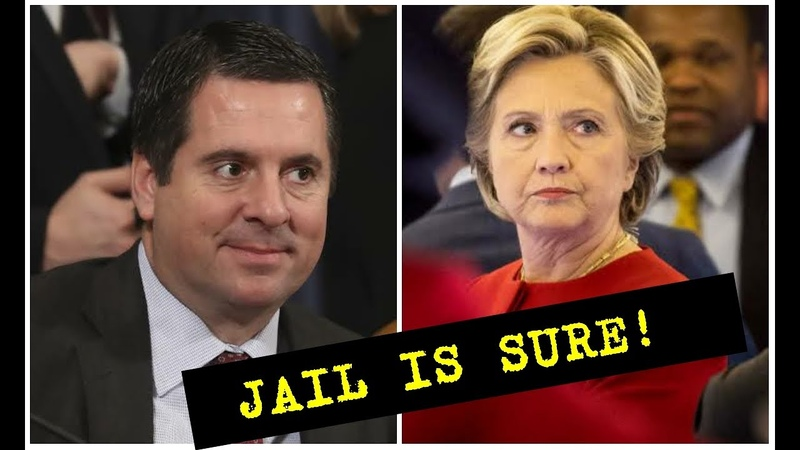 HER COVER IS FINALLY BLOWN HILLARY CLINTON TO JAIL Devin Nunes Exposes Hillary Clinton