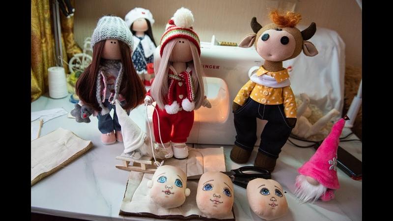 Томичка мастерит необычных кукол для своей дочери перенесшей инсульт и других людей
