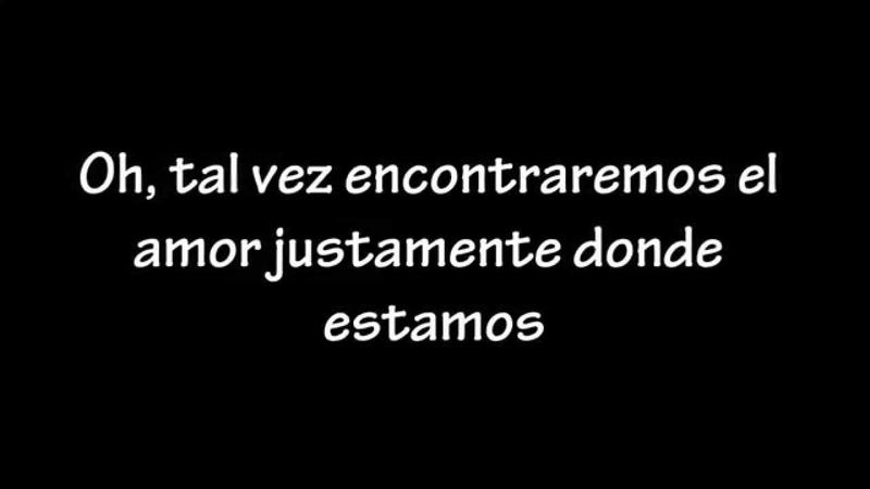 Thinking out loud lyrics traducida al español