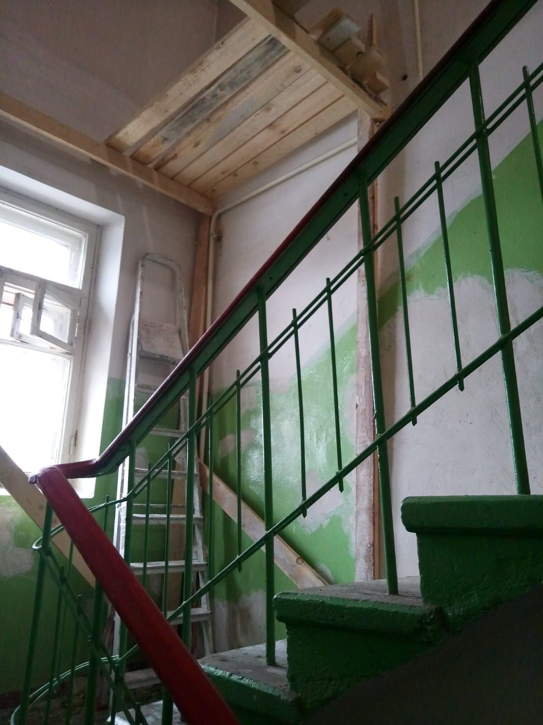 Улица Большева дом 15 приступили к декоративному