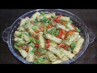 vegetable Pasta Recipe     Easy & tasty Pasta    Simple Pasta Recipe   Паста с Овощами