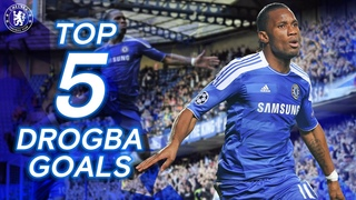 Didier Drogba's Five Greatest Goals For The Blues   The King Of The Bridge