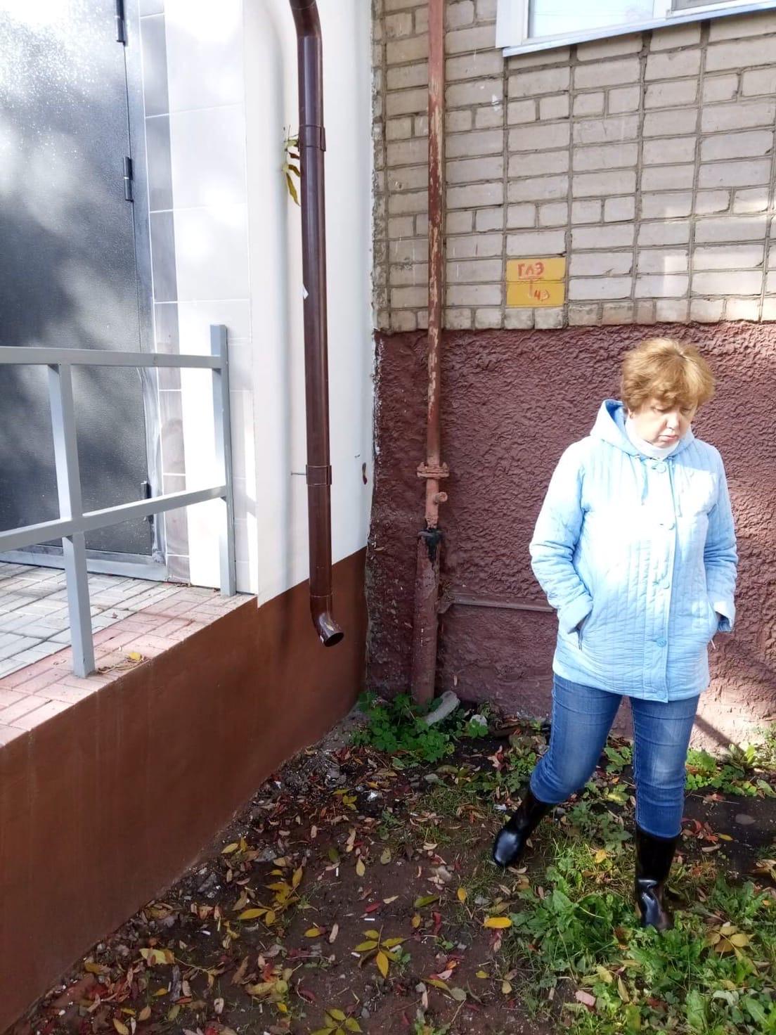 Улица Романа Ердякова дом 14 начало приемки