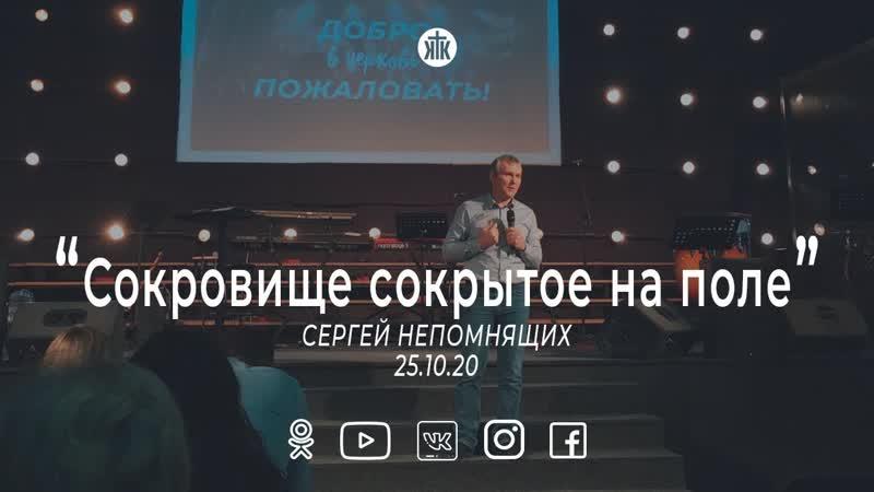Сергей Непомнящих Сокровище сокрытое на поле