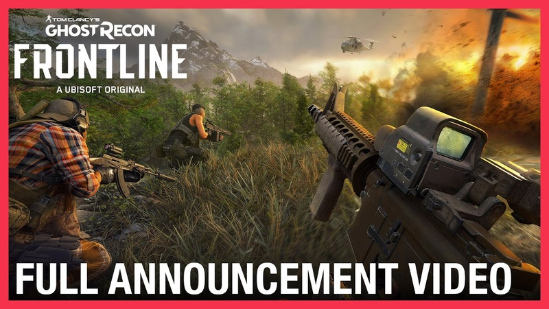 Tom Clancy's Ghost Recon Frontline Full Announcement Video Ubisoft NA