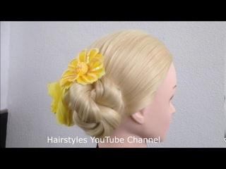 9 Easy Bridal Hairstyle For Long Hair || Messy bun || Hair style girl