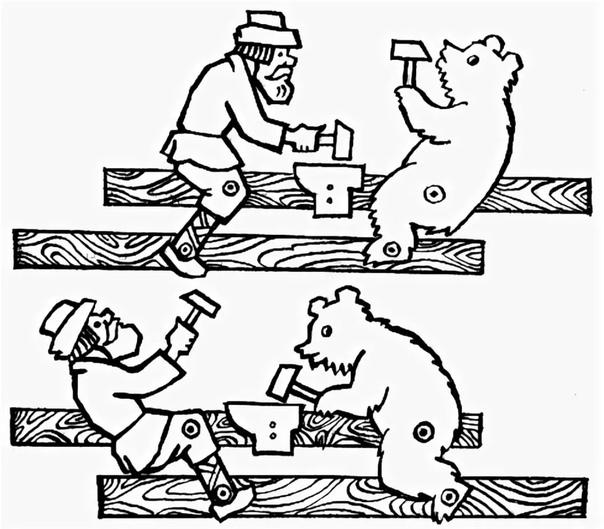 богородская игрушка картинки как нарисовать старшая группа сезон знаменует