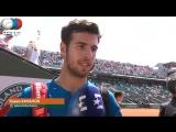 Karen Khachanov Interview Roland Garros 3R