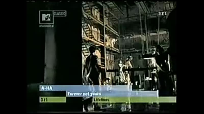 A ha forever not yours mtv classic