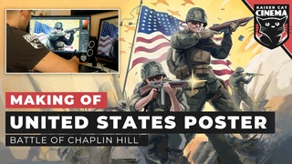 Making of: United States WW2 Propaganda Poster