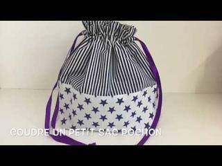 Coudre un petit sac pochon - Tuto Couture Madalena