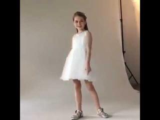 Красивое платье принцессы для девочек украшенное бусинами и жемчужинами; детское выступлений