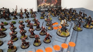 Vanguard Tactics v Winters SEO; Sisters of Battle v Death Guard, Warhammer 40k battle report