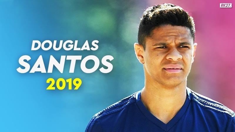 Douglas Santos – FC ZENIT: Dribling, Skills, Passing - 2019/20