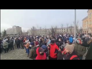 Протест Иркутск: «Долой Единую Россию!»