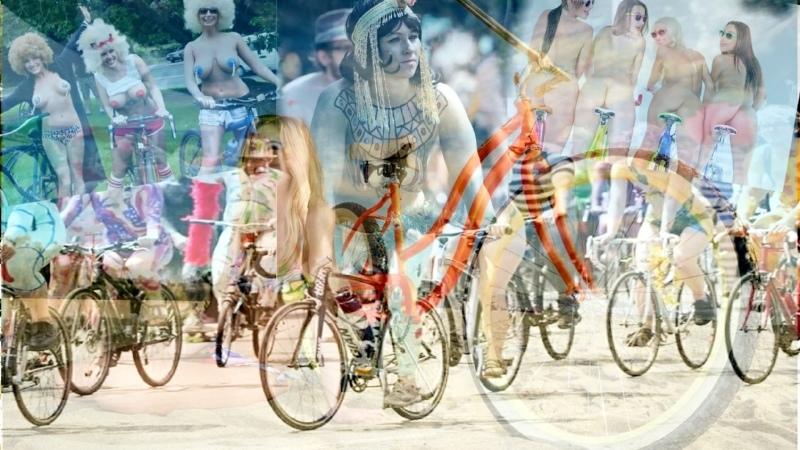 World Naked Bike Ride in Portland