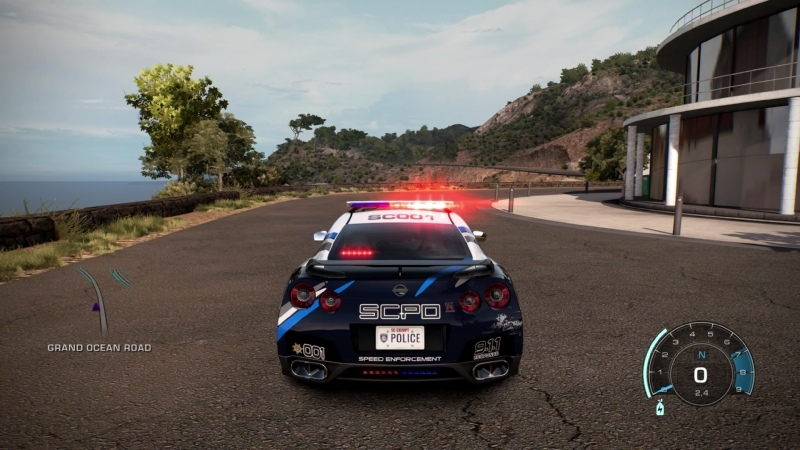 POLICE Nissan GTR VSpec Need for Speed™ Hot Pursuit Remastered