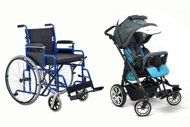 Слева – стандартная коляска Армед, которую выдали Ульяне для сына Артема и которой невозможно пользоваться. Справа – удобная и функциональная Hoggi Bingo Evolution для прогулок, на которой Артем ездит сейчас.