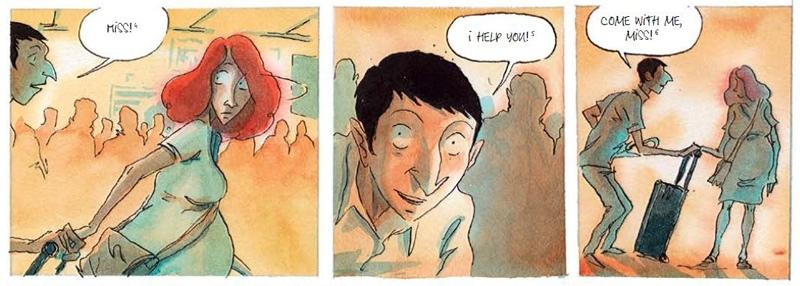 «Красная карма», Эдди Симон, Пьер-Анои Гомон. Рецензия, изображение №3