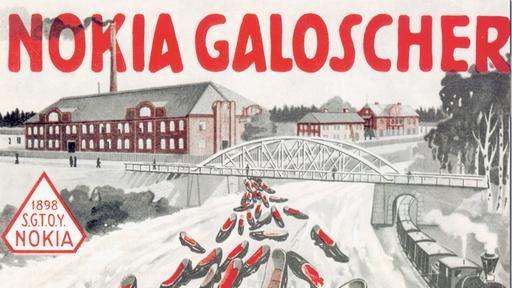 Первыми товарами, которые производила Noia, были бумага и галоши В далеком 1865 г. неприметный финский инженер Фредрик Идестам создал небольшую бумажно-целлюлозную фабрику на южном берегу