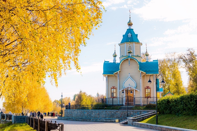 Феодоровская церковь. г. Киров. 2017 г. Фото: Сергей Панагушин.