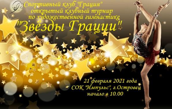 21.02.2020 года Открытый турнир по художественной гимнастике