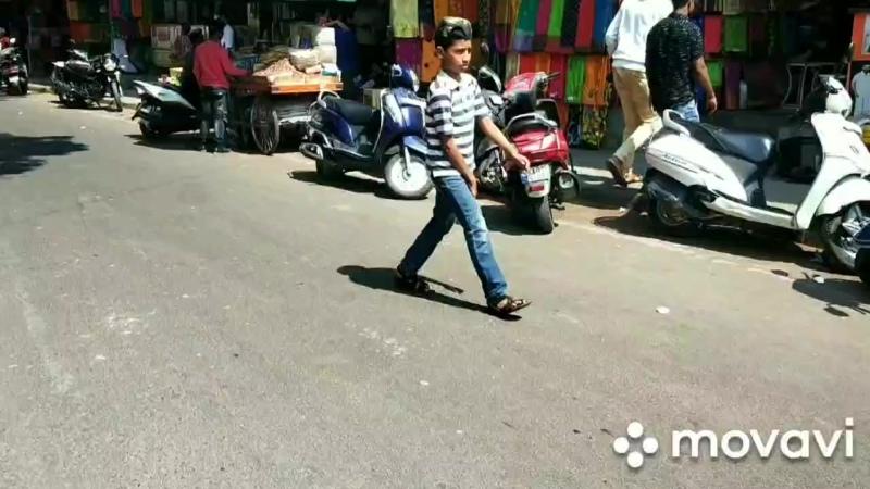 Ещё одна улочка Бангалора mp4