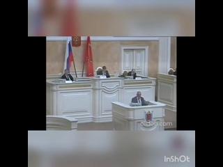 ⚜️ Речь депутата Максима Резника   на заседании петербургского законадательного собрания.
