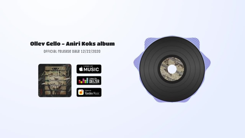 Ollev Gello - Aniri Koks album 2020 (TECHNO)