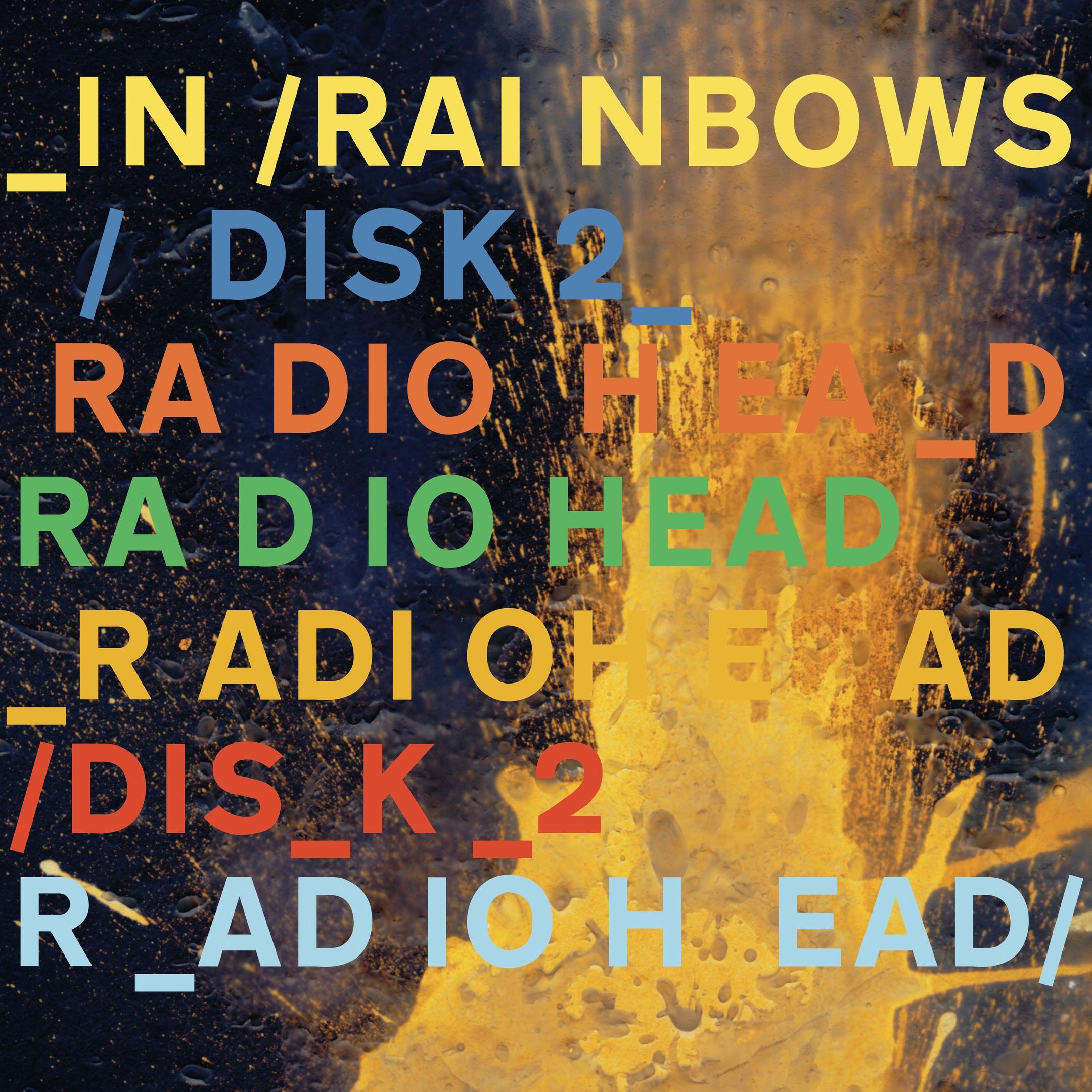 Radiohead album In Rainbows Disk 2