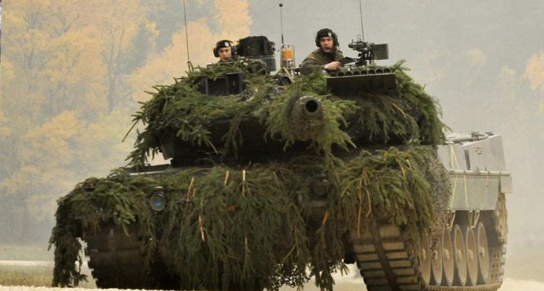 Маскировка танков