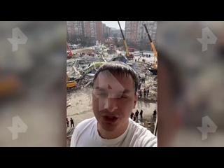 Страшно, пыль, ничего не увидел: очевидец о взрыве во Владикавказе
