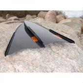 Лопасти Leaderfins карбоновые (100% карбон) Sterеoblades Pure Carbon, размер 20x80 см