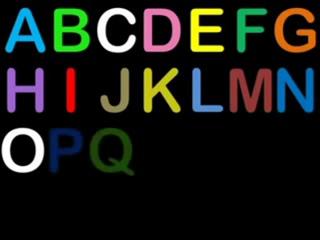 Детские песенки, поем английский алфавит. Весело учим буквы!