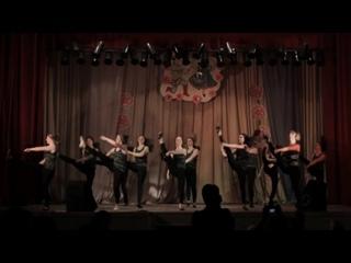 Сюрприз - Военный танец. Торжественное построение на сцене