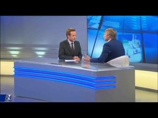 🎬 Андрей Карпухов на телеканале Хабар 24 _ Президент Blockchain Fund на Телеканале Хабар 24