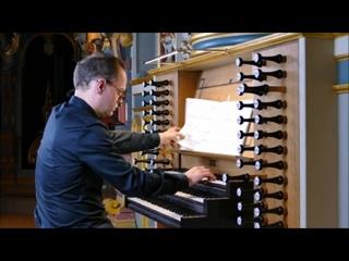 529 J. S. Bach - Organ Sonata No.5 in C major, BWV 529 [Trio Sonata] - Frizt Siebert