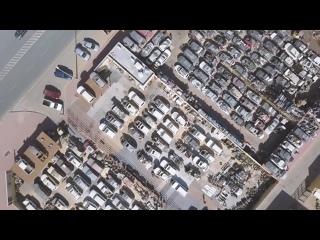 Брошенные полицейские машины , битые крузаки , дикие разборки в Дубай ч2
