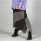 Шерстяная юбка CHASTO