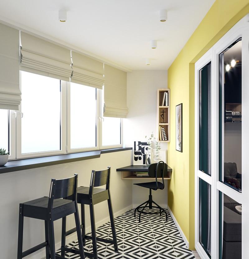 Дизайн-проект квартиры 28 м.